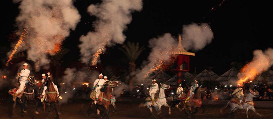 Marrakech Fantasia show