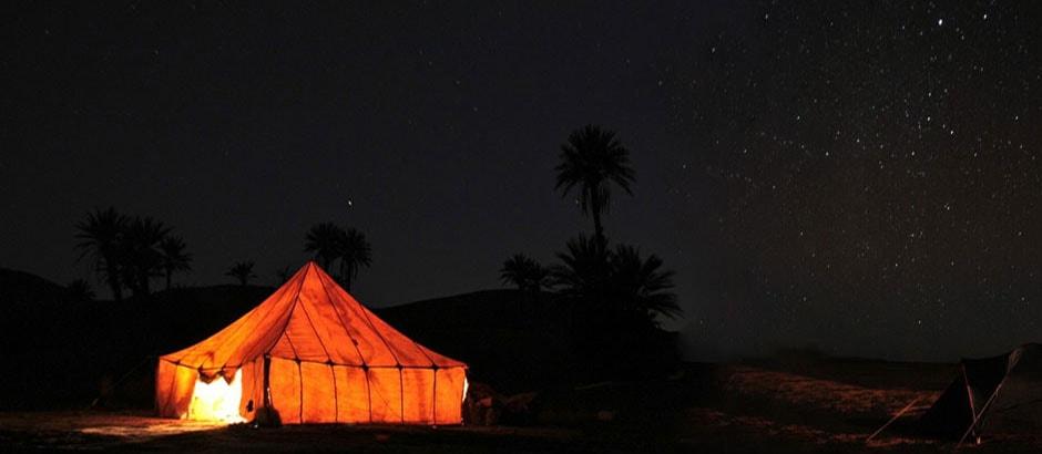 Merzouga camel trekking and night in desert
