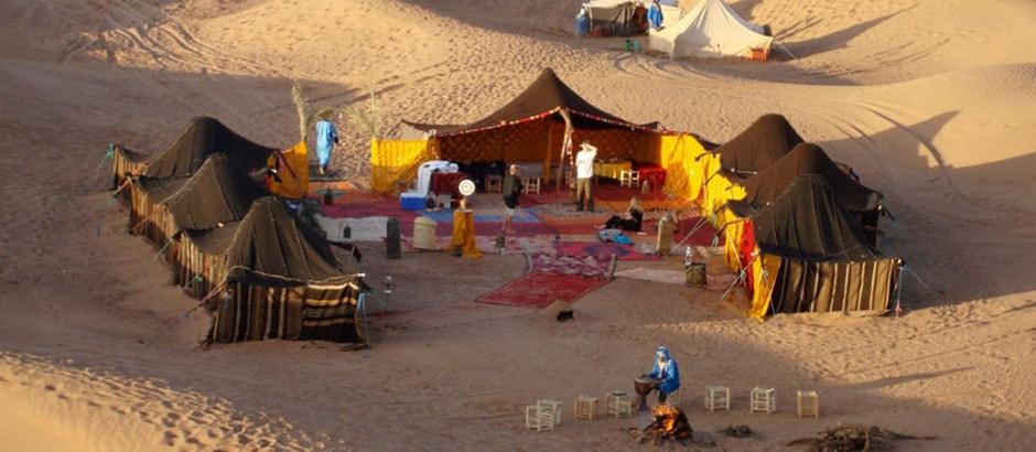 Overnight camel trek marrakech